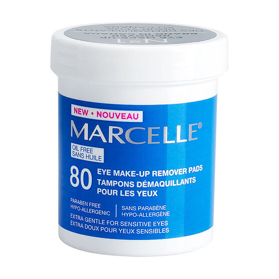 Marcelle Oil Free Eye Make-Up Remover Pads - 80u0026#39;s | London Drugs