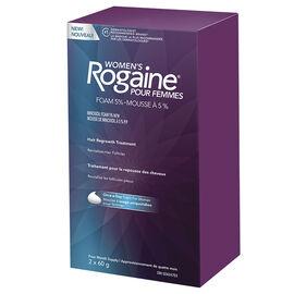 Rogaine Women's Hair Regrowth Treatment - 2 x 60g