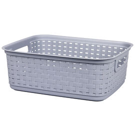 Sterilite Short Weave Basket - Cement