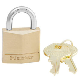 Master Padlock -30mm Solid Brass