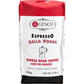 A.Genco Della Rossa Whole Bean Coffee - 908g