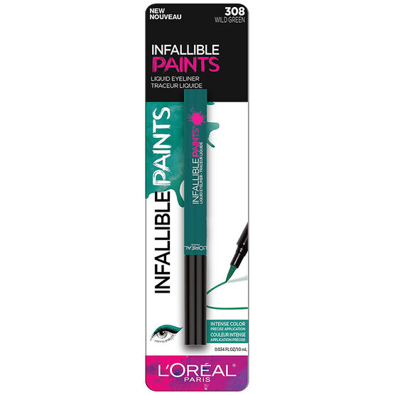 L'Oreal Infallible Paints Eyeliner - Wild Green