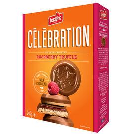 Leclerc Celebration Butter Cookies - Raspberry Truffle - 240g