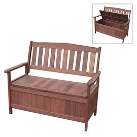 Acacia Bench with Storage - PTWB01270