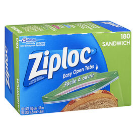 Ziploc Sandwich Bags Value Pack - 180's
