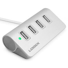 Logiix Piston Connect 4 Port USB 3.0 Hub - LGX 11991