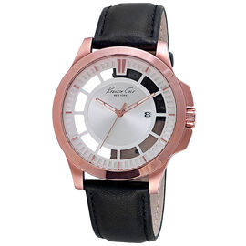 Kenneth Cole Transparency Watch - Black/Rose Gold - 10027460