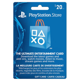 Playstation Network Gift Card - $20