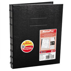 Blueline NotePro Daily Planner - 192 pages - Black