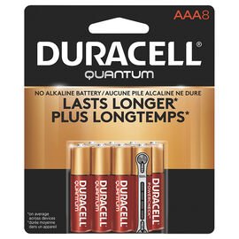 Duracell Quantum AAA Batteries - 8 pack