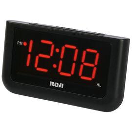 RCA Big Display Alarm Clock - Black -RCD30