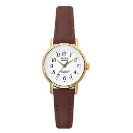 Timex Acqua Analogue Watch - Brown/Gold - 63021
