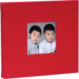 Pioneer 8x8 Fabric Cover Memory Book - Assorted