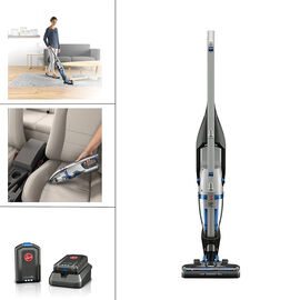Hoover Air 2-in-1 Cordless Stick Vacuum - Silver/Blue - BH52100CA