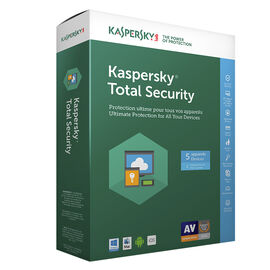 Kaspersky Total Security 2017 - 5 Devices - 1 Year - 8136020