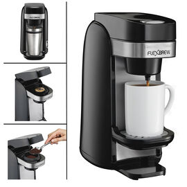 Hamilton Beach Flexbrew Coffee Maker - Black - 49997C
