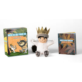 Where The Wild Things Are with Max Plush & Sticker Book
