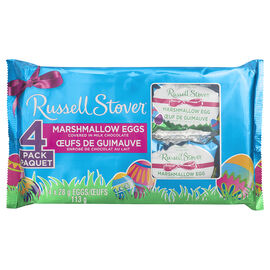 Russell Stover Marshmallow Egg - 4 pack - 113g