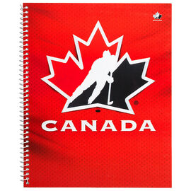 Hockey Canada Coil Notebook