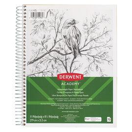 """Derwent Academy Heavyweight Wire Sketchbook - 11x8.5"""""""