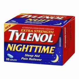 Tylenol* Nighttime Extra-Strength - 16 caplets