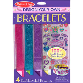 Melissa & Doug Make-Your-Own Bracelets Fashion Craft Set - 14217
