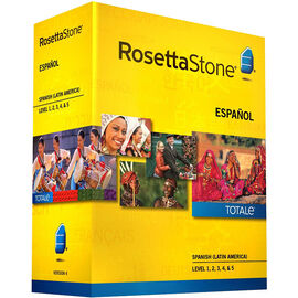 Rosetta Stone Spanish (Latin America) - Version 4 Levels 1-5