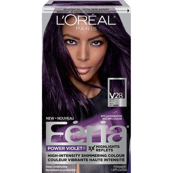 L Oreal Feria Fashion Metallics Permanent Hair Colour