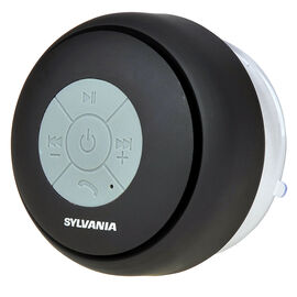 Sylvania Bluetooth Shower Speaker - Black - SP230