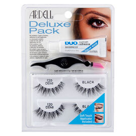 Ardell Lashes Deluxe Pack - Demi Black - 120