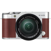 Fujifilm X-A3 with XC 16-50mm OIS II Lens - Brown - 600017207