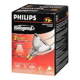 Philips 75W PAR30 Halogena Flood Light Bulb - 160010