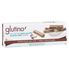 Glutino Milk Chocolate Coated Wafer Cookies - Gluten Free - 130g
