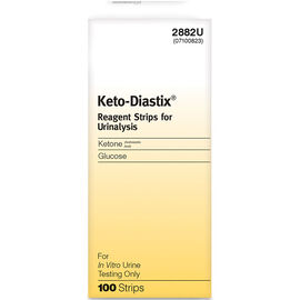 Bayer Keto-Diastix Reagent Strips - 100's