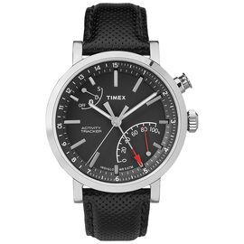 Timex Metropolitan+ Activity Tracker  - Silver/Black - TW2P81700ZL