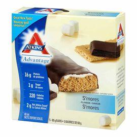 Atkins Advantage Bar - Smores - 5 x 60g