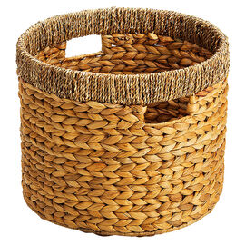 London Drugs Water Hyacinth Seagrass Round Basket