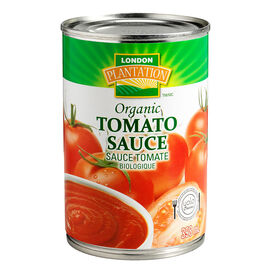 London Plantation Organic Tomato Sauce - 398ml