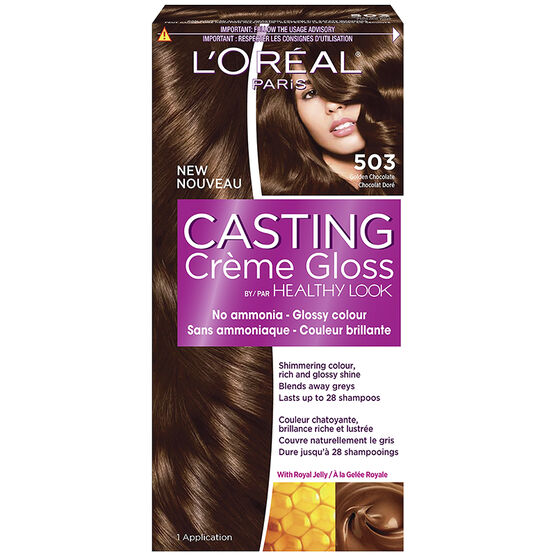 L Oreal Casting Creme Gloss Colour 503 Golden Chocolate