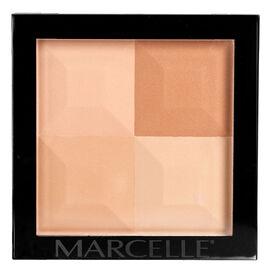 Marcelle Quad Pressed Powder - Dark