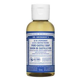 Dr Bronner's Liquid Soap - Peppermint - 59 ml
