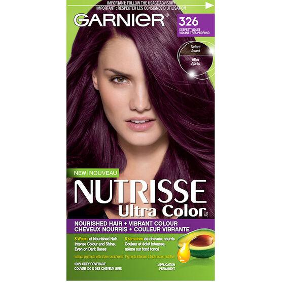 416 Deep Ash Violet Nutrisse Ultra Color Garnier Brands