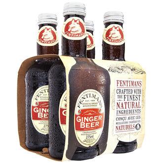 Fentimans Soft Drink - Ginger Beer - 4x275ml