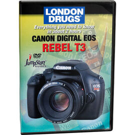 Jumpstart Guide for Canon T3 - DVD