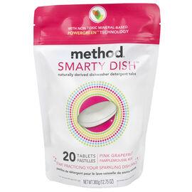 Method Dishwasher Tabs - Pink Grapefruit - 20's