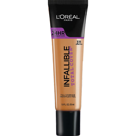 L'Oreal Infallible Total Cover Foundation - Creme Cafe | London Drugs