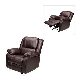 London Drugs Rocker Recliner Chair - Brown - AF10005