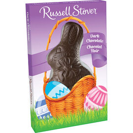 Russell Stover Solid Dark Chocolate Rabbit - 85g