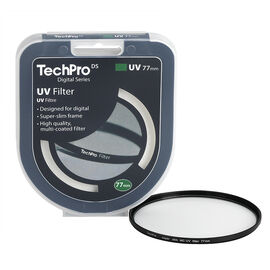TechPro DS 77mm Multi-Coated UV Filter - FIMSMCBL77-CBDC