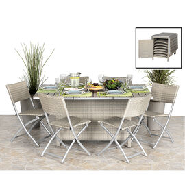 Livingston Patio Dining Set - 7 piece       AP3635